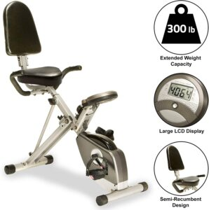 EXERPEUTIC 400XL Recumbent Exercise Bike