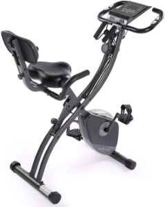 MaxKare Exercise Bike Stationary Foldable Magnetic Upright Recumbent Cycling 3 in 1 Exercise